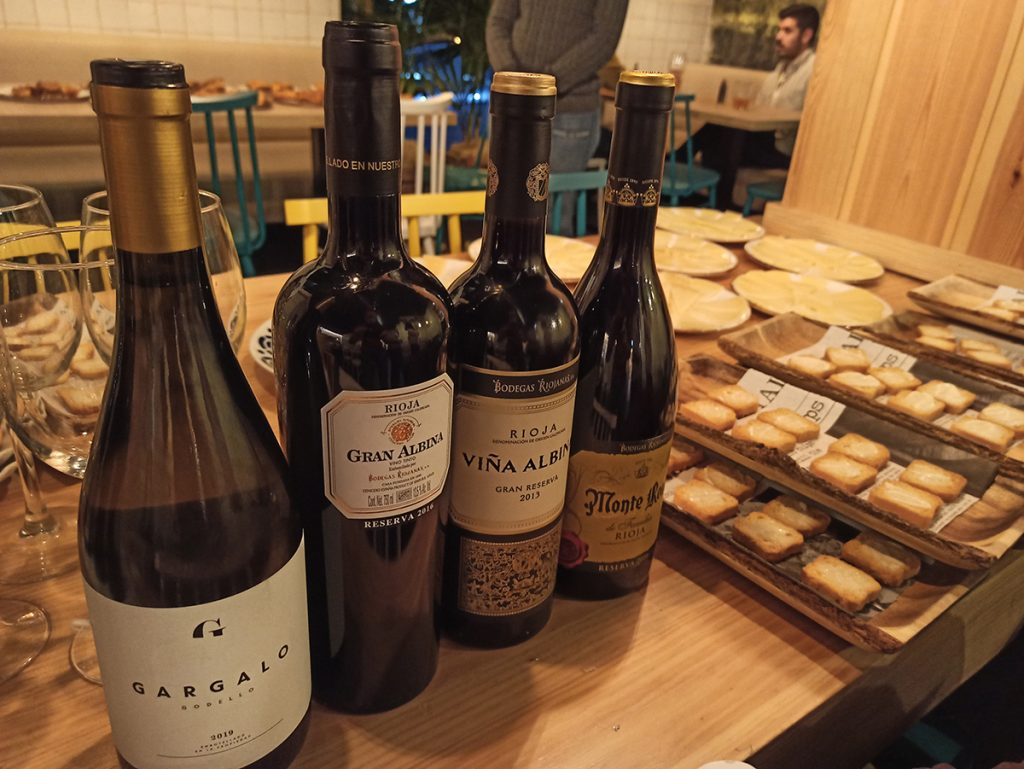 Tiempo de Catas de vino