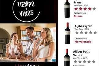 cata de vinos Finca Los Aljibes