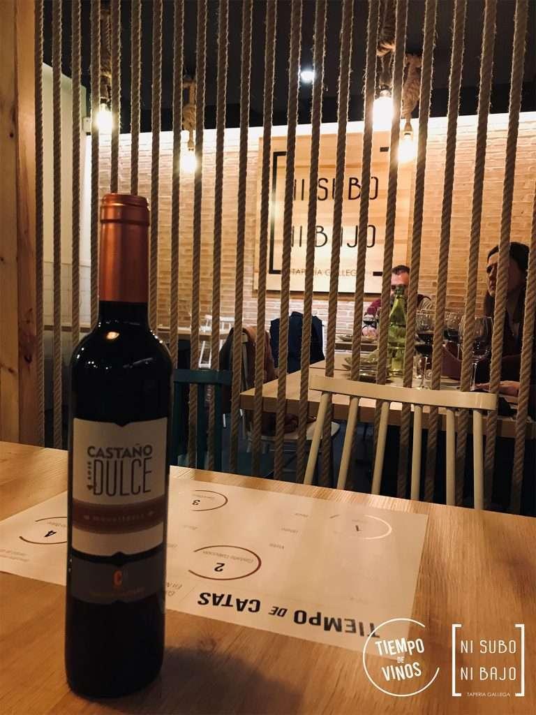 Cata de vinos de Bodegas Castaño