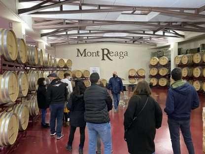 enoturismo en Mont-Reaga